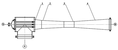 Многосопловой паровой эжектор