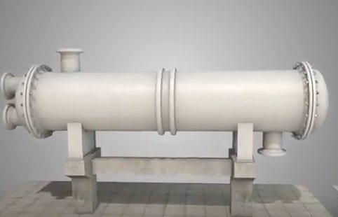 Теплообменник с линзовым компенсатором типа ТК