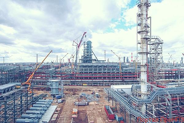Строительство нового комплекса переработки нефтяных остатков на Нижегородском НПЗ обойдется в 90 млрд руб