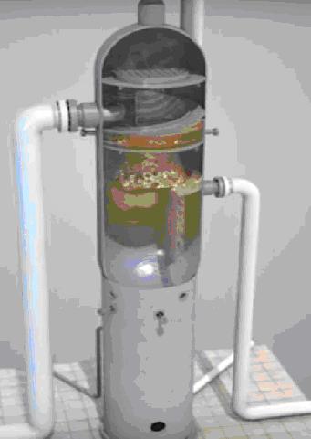 рис.5 процесс разделения на фазы