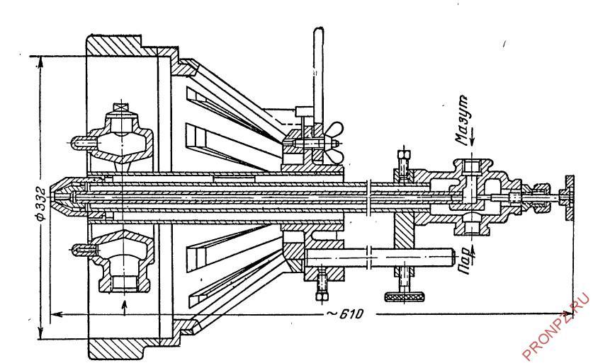 Комбинированная форсунка ГНФ-3