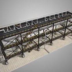 Реактор серно-кислотного алкилирования