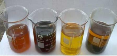 Цвет нефти