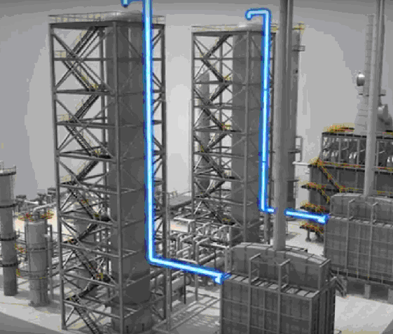 Подача сырья в реакторы