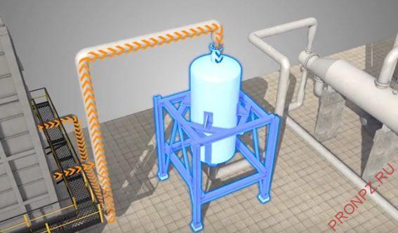 Рисунок4 - Реактор гидроочистки