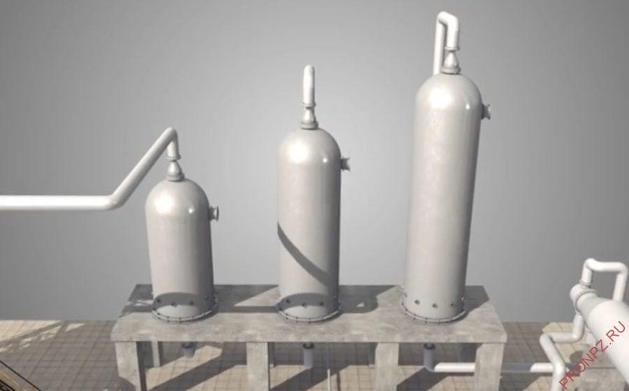 Насадочные и тарельчатые колонные аппараты