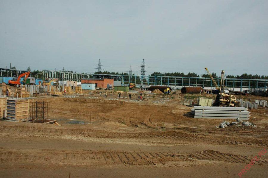 Первая очередь строительства Антипинского НПЗ 2004-2005 гг.