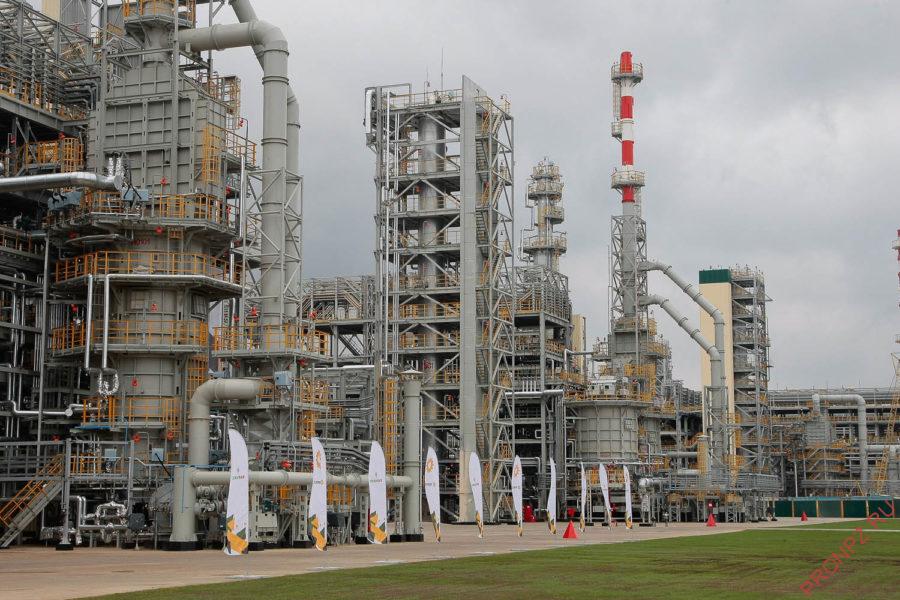 Комбинированная установка гидроочистки керосина и дизельного топлива
