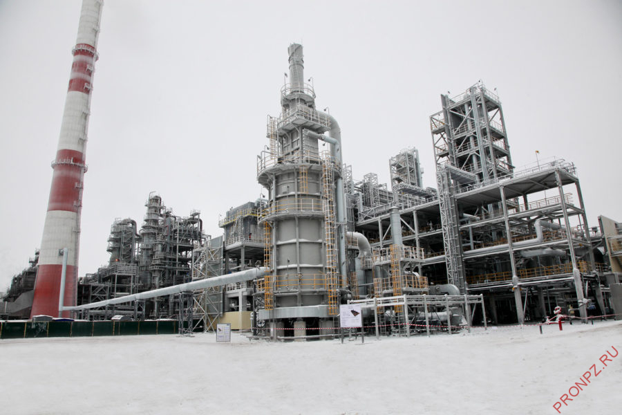 Установка гидроочистки нафты