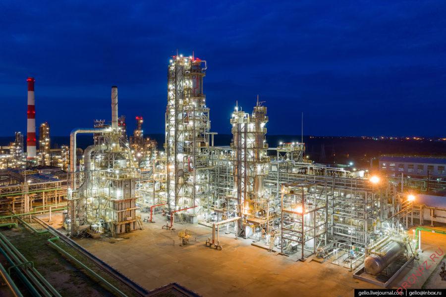 Установка гидроочистки бензина каталитического крекинга