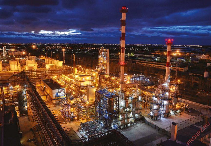 Установка гидроочистки дизельного топлива
