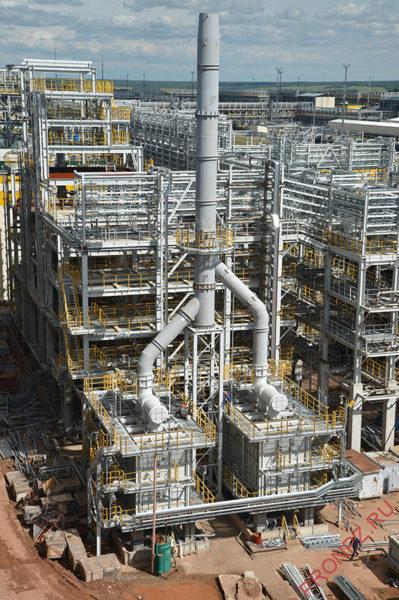 Строительство установки гидроконверсии гудрона