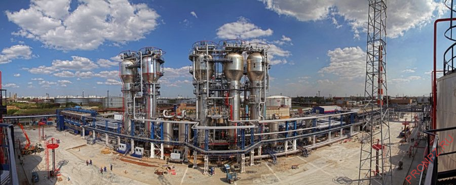 Установка производства битумов