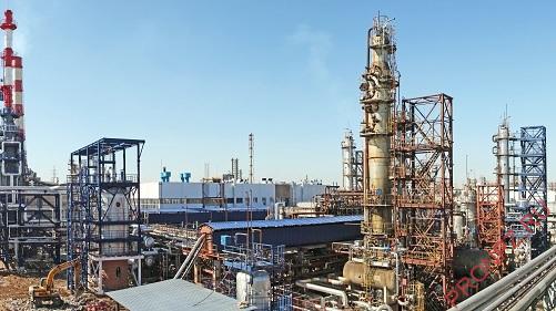 Установка гидроочистки дизельного топлива Л-24-2000
