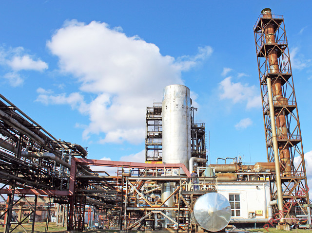 Установка 86 производства серной кислоты