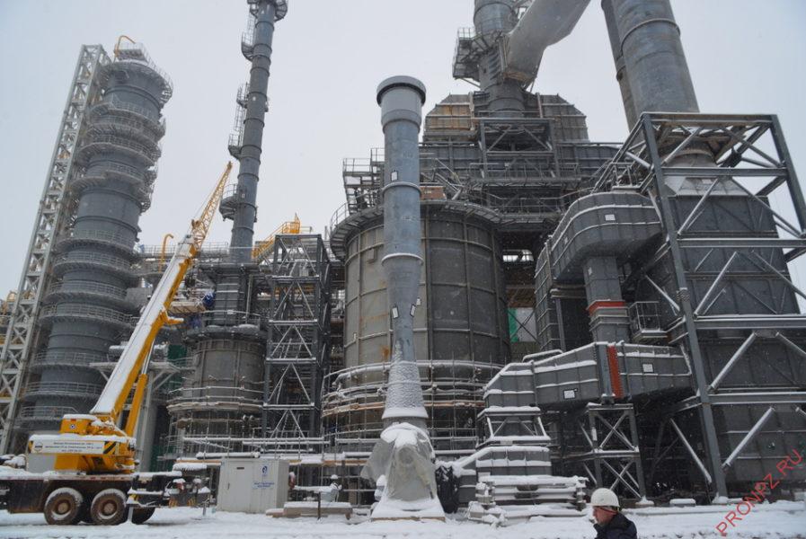 Установка производства водорода КГПТО