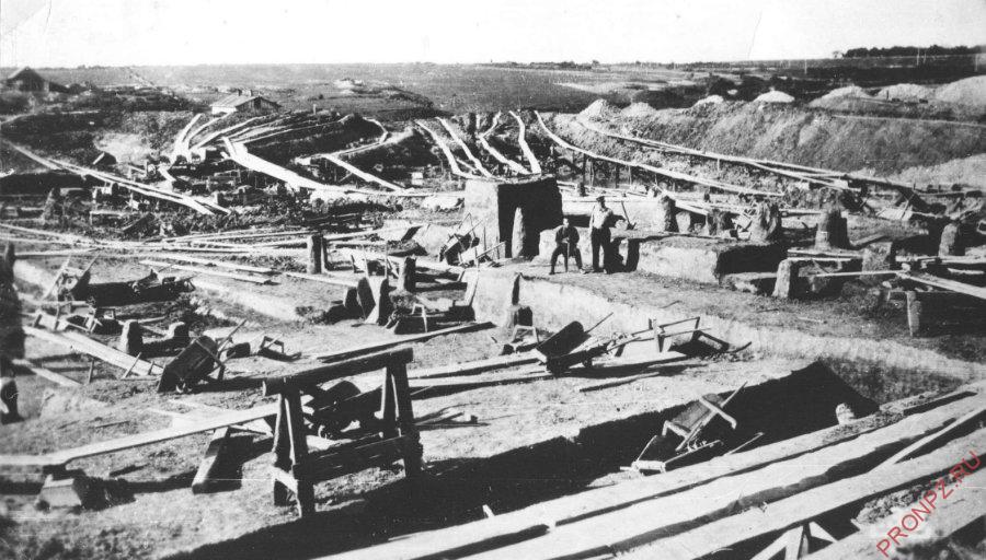 Строительство Хабаровского НПЗ 30-40-е гг.