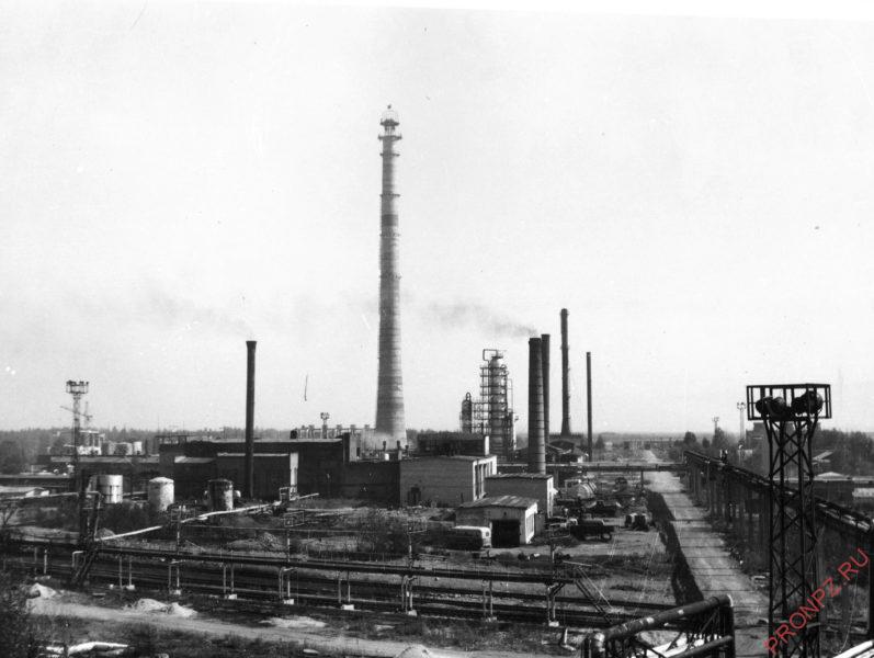 Комсомольский НПЗ в 50-60-е гг.