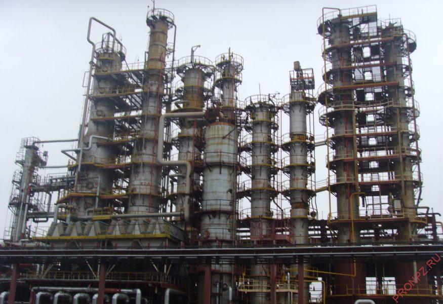 Установка по перегонке нефтепродуктов СПГК