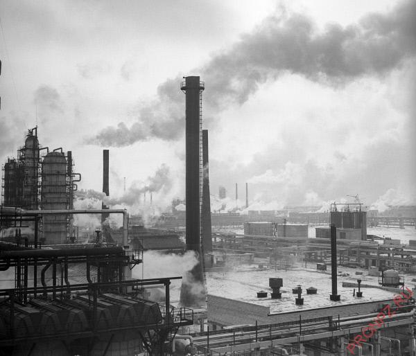 Волгоградский нефтеперерабатывающий завод 70-е гг.
